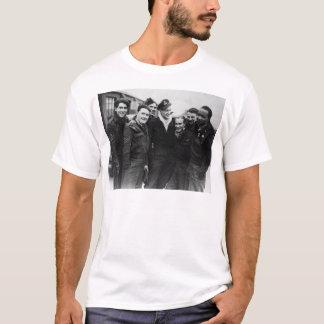 T-shirt Un équipage de bombardier de Lancaster