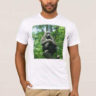 T-shirt Un gorille dans la pensée profonde