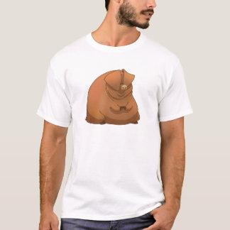 T-shirt Un gros porc sur une chemise