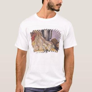 T-shirt Un groupe d'ail et d'un étain Tankard