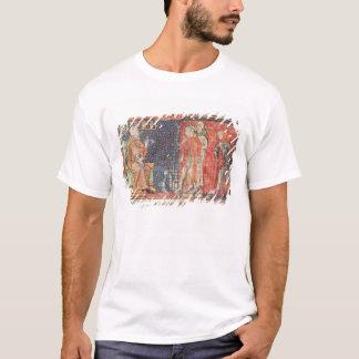 T-shirt Un homme malade et un homme estropié se sont