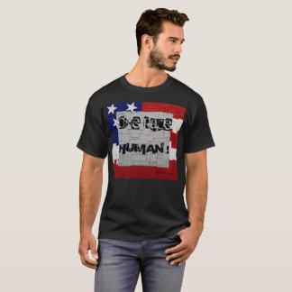 T-shirt Un humain de course