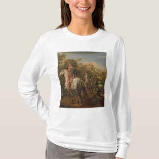 T-shirt Un hussard à cheval, 1773