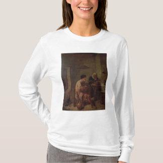 T-shirt Un intérieur avec des figures