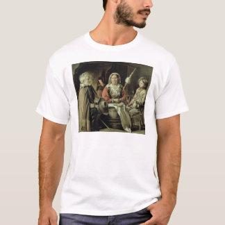 T-shirt Un intérieur français, c.1645