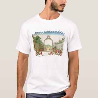 T-shirt Un jardin du marché à une des portes de Paris