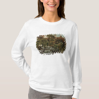 T-shirt Un jardin flamand