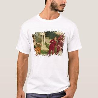 T-shirt Un jeune homme entre la vertu et le vice