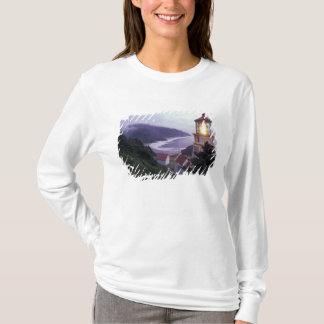 T-shirt Un jour brumeux sur la côte de l'Orégon chez le