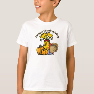 T-shirt Un jour de bon thanksgiving
