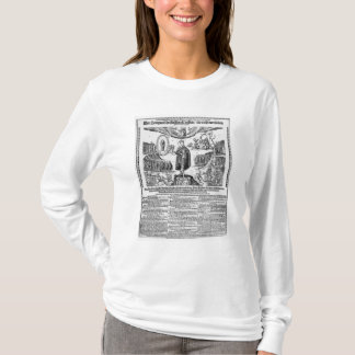 T-shirt Un journal grand format allemand dépeignant le