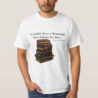 T-shirt Un lecteur vit…