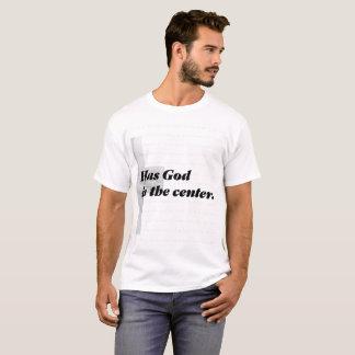 T-shirt Un mariage fort a Dieu au centre