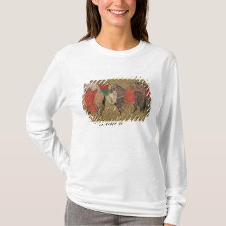 T-shirt Un marié avec des chevaux