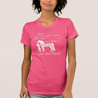 T-shirt un meilleur ami de filles