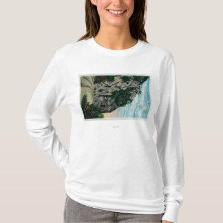 T-shirt Un mille de haut, à Mt. LoweMt. Lowe, CA