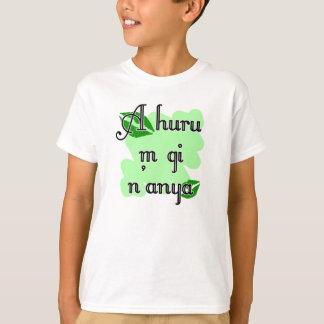 T-shirt Un n'anya de gi du huru m - baiser de vert d'Igbo