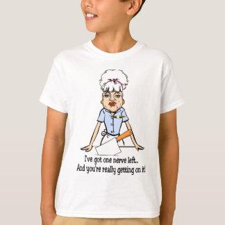 T-shirt un nerf laissé
