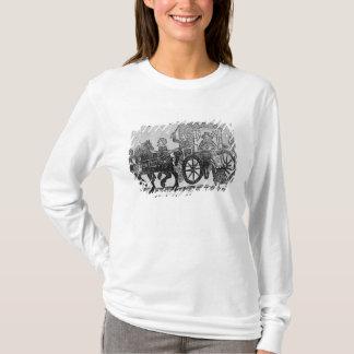 T-shirt Un noble dans son chariot