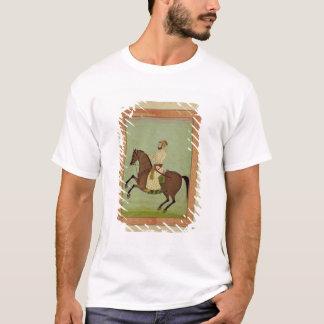 T-shirt Un noble de Mughal à cheval, c.1790, du Larg