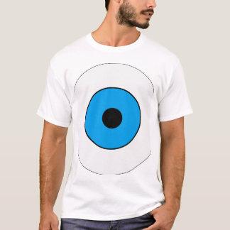T-shirt Un oeil bleu