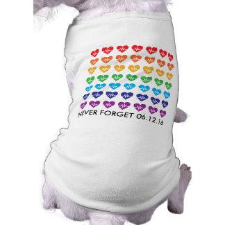 T-shirt Un Orlando un animal familier d'arc-en-ciel de