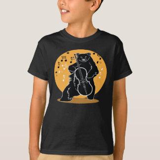 T-shirt Un ours et un violoncelle
