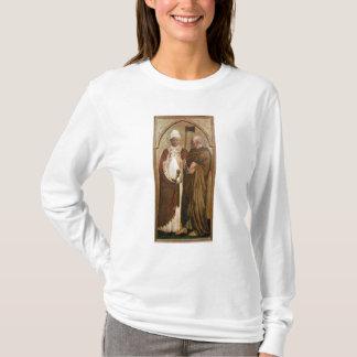 T-shirt Un pape et un St Matthias, c.1428-29