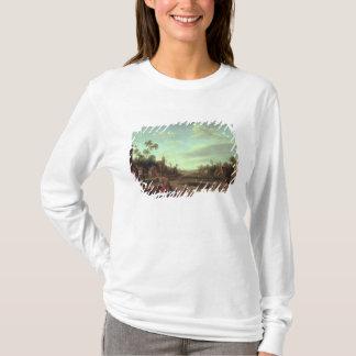T-shirt Un paysage boisé de rivière, 1646