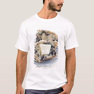 T-shirt Un petit pain de myrtille avec du beurre