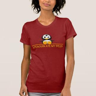 T-shirt Un pingouin a mangé mon cerveau