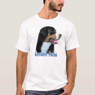 T-shirt Un plus grand nom suisse de chien de montagne