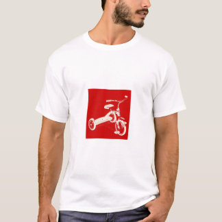 T-shirt Un plus grand tricycle