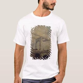 T-shirt Un pont-levis dans une ville néerlandaise, 1875