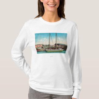 T-shirt Un schooner ScenePetaluma, CA d'expédition