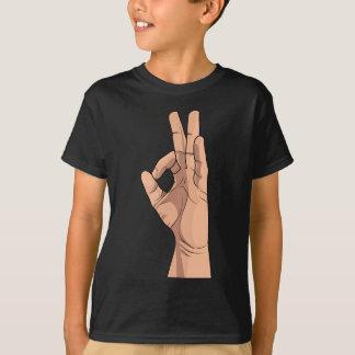 T-shirt Un signe CORRECT et gestes de main de ~