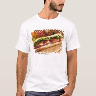 T-shirt Un sous sandwich italien avec 2