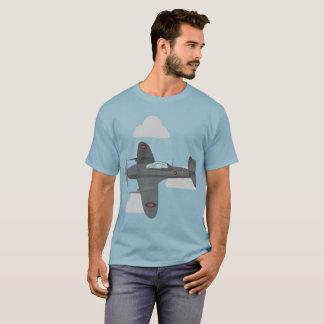 T-shirt Un Spitfire - un avion