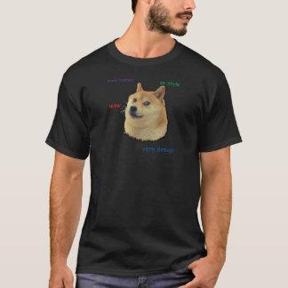 T-shirt Un tel doge.  Wouah
