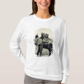 T-shirt Un tour d'adieu sur l'éléphant