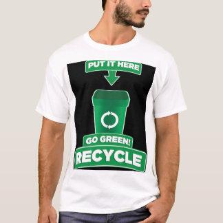 T-shirt Un type vert