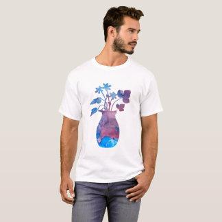 T-shirt Un vase à fleur