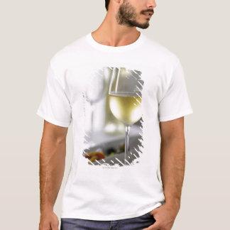 T-shirt Un verre de vin blanc 2