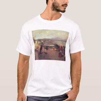 T-shirt Un village de Connemara - le chemin vers le port,
