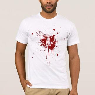 T-shirt Un zombi négatif de vampire de donation de groupe