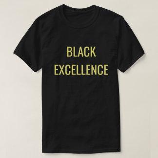 T-shirt Unapologetically noir : Excellence noire