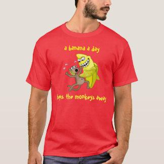 T-shirt une banane par jour