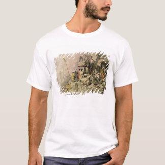 T-shirt Une carrière en pierre, 1833 (litho de couleur)