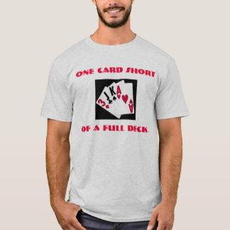 T-shirt Une carte courte d'une pleine plate-forme