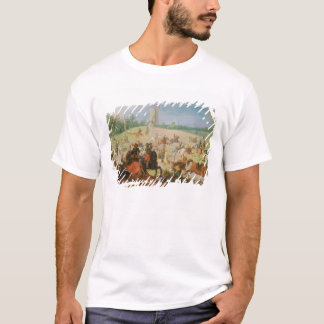 T-shirt Une cavalerie luttent